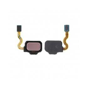 Botón de lector de huellas rosa  S8 G950F/S8 Plus G955F