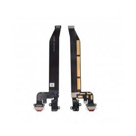 Cable flex con conector USB tipo C de carga datos y accesorios y conector audio Jack  One Plus 5T/1+5T