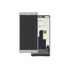 Pantalla completa color plata Xperia XZ2 Compact