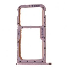 Bandeja porta tarjeta Sim y MicroSD para Huawei P20 -Rosa