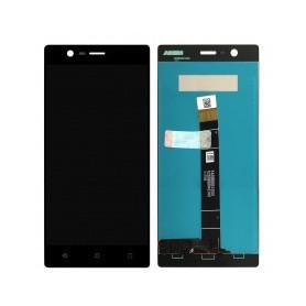 Pantalla completa color negro para Nokia 3