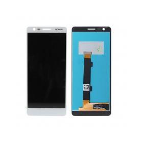 Pantalla completa color blanco para Nokia 3.1 / N3.1 / N3 2018