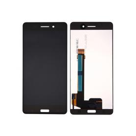 Pantalla completa color negro para Nokia 6