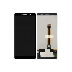 Pantalla completa color negro para Nokia 7 Plus 2018