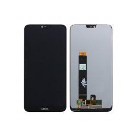 Pantalla completa color negro para Nokia 7.1 / N7.1 / N7 2018